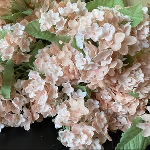 BNWT 10 silk floral hydrangea stems from Michaels